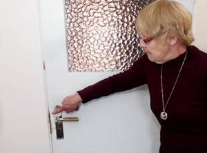 Alva Nilsson berättar att tjuvarna bröt sig in i förskolelokalen och kom över några få hundralappar.