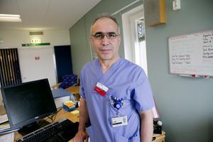 Överläkaren Yacoub Malki är en av nyckelpersonerna i undersökningen som ska kartlägga Södertäljebornas hälsa.