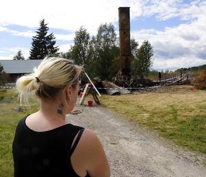 För några veckor sedan förlorade Therese Andersson det hem hon levt i under tio års tid.