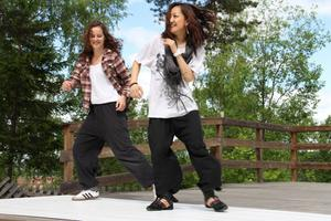 Judith Jacobs och Mika Yanagihara deltar under årets Dansforum.