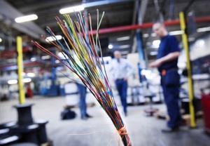Hexatronic driver tillverkningen av fiberkabel i Hudiksvall inom ett eget bolag, Hexatronic Cables & Interconnect Systems AB (HCI).