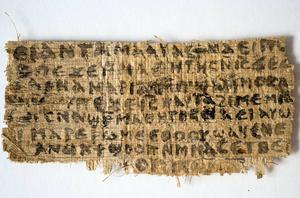 Det här papyrusfragmentet orsakade stor uppståndelse när det dök upp 2012 med sina antydningar att Jesus kunde ha varit gift. Jörgen Magnusson översatte det från koptiska.