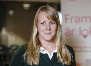 Jennie Sjöstedt, Eon Elnät, projektledare för energiprojektet ute på Åstön.