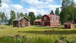 Gården i Grönviken uppe i Jämtland.