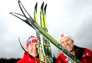 Ulf och Perry Olsson är två av vallarna bakom en succésäsong för norsk skidåkning.