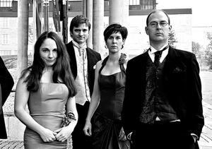 Weberkvartetten spelar i Multrå kyrka den 25 maj.