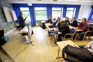 """Rubriken för seminariet var """"Jobben kvar i Gävle – men hur?"""""""
