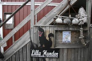 Lilla Hunden i teveserien Saltön heter egentligen Pelles Rökeri.