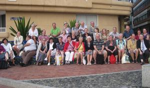 31 ombud på utbildnings- och inspirationsresa till vänstiftet Gran Canaria.