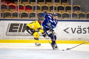 Charlie Hellström dundrade upp kvitteringen till 3–3 och tog matchen till förlängning.