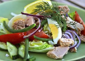 Tonfisk är en utmärkt proteinkälla.
