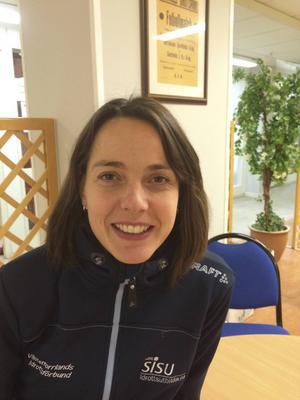 Ellen Forsberg är projektansvarig på Västernorrlands idrottsförbund. Nu tas ungdomsprojektet Lobben upp igen och får en ytterligare inriktning mot nyanlända ungdomar.