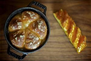 Bildtext 15: Berusad kaka på Dinner by Heston.    Foto: The Mandarian Oriental London