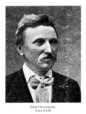 Tunabördige Uppsalakonditorn och lyrikern J M Ofvandahl framträdde på Möllers för att läsa sin lyrik. Något som blev en inte alltför bejublad föreställning.