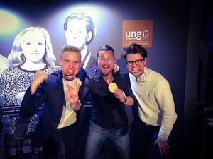 Efter två guld och en bronsmedalj hade Västmanland all anledning att fira på UF-galan i Stockholm.