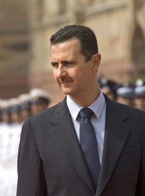Bör bort. Bashar al-Assads öde ligger i syriernas egna händer. Omvärlden bör dock inte glömma bort att stödja syriernas frihetskamp.fOtO: scanpix
