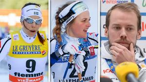 Charlotte Kalla, Stina Nilsson och Emil Jönsson är tre av de som skrivit på upproret.