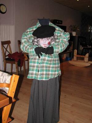 Tilly hade bästa halloweenkostymen.