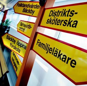 Kortare tid. Landstingsmajoriteten vill göra det lättare att hitta fram till vården.Foto: Niklas Holm