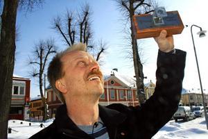 Per Eriksson är glad över tillgänglighetspriset till Askersund.
