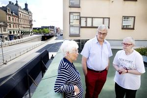 Marianne Larsson, Karl Bergkvist och Irene Hillgren bor på Rudbecksgatan.