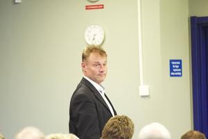 Vd Kjell Kruse framhöll att han tagit över en organisation utan ansvarsutkrävande.