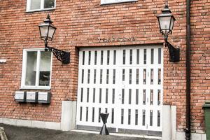 Tingshuset i Söderhamn där en rättegång om olaga hot hölls på onsdagen.