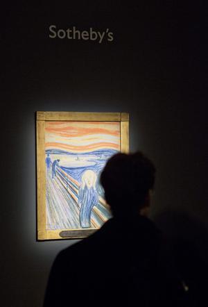 "Edvard Munchs ""Skriet""."