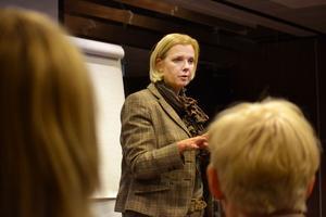 Erfarna föreläsaren Karin Klerfelt, från företaget Astarcan, delade med sig av sina erfarenheter om att våga ta betalt som företagare.