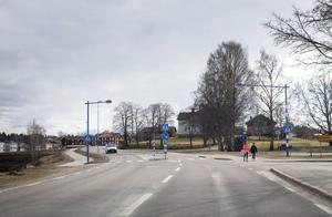 Trafikverket ville ha jämnare hastighetssteg i Delsbo än de hastigheter som kommunen beslutat om.