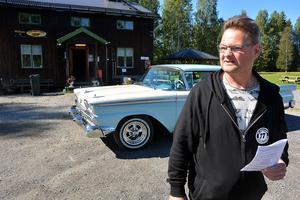 Förberedelserna pågår för fullt vid Karlsro flyers klubbstuga i Ljungaverk, där Sven-Ingvar