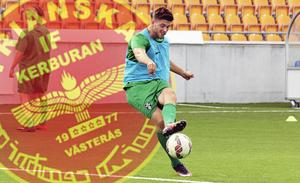Nikola Durovic ställs mot sitt VSK i finalen av Widerlöv Cup.