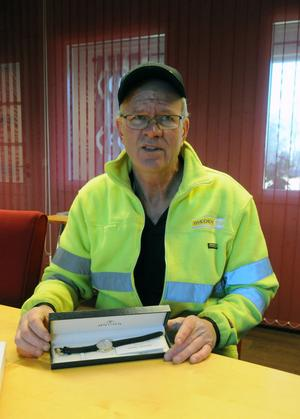 Dan Georgsson tänkte sig inte från början att han skulle bli kvar i 25 år på Rågsvedens såg, han skulle bara jobba över vintern.