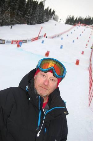 En nöjd tävlingsgeneral, Anders Olofsson.