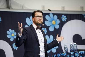 SD:s partiledare Jimmie Åkesson höll sitt traditionella vårtal i helgen.