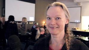 Kerstin Strand, föreståndare vid asylboendet i Siljansnäs, räknar med förlängt kontrakt.