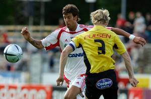 Andreas Haddad gör debut i ÖSK i kväll.