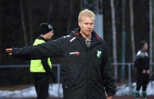 Ånge IF:s tränare Benny Matsson.