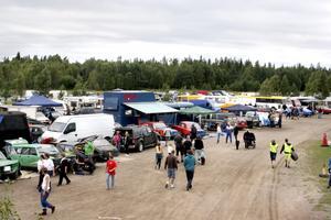 Cirka 700 besökare och tävlande fanns på plats i helgen på Motorstadion i Laxå.