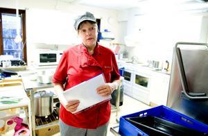 Erika Suneson, kokerska på Torsångs förskola, har kämpat för bättre ventilation i många år.