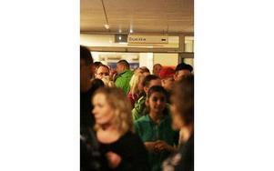 Många besökte Vasaskolans öppet hus.