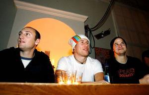 Skidåkningen kommer i första hand för Gustav Flödin, David Nordlund och Tommy Nordin.Foto: Henrik FlygareFoto: Henrik Flygare
