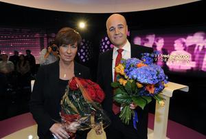 Även om den bitvis var hetsig så blev ändå söndagskvällens partiledardebatt mellan Fredrik Reinfeldt och Mona Sahlin som helhet tämligen beskedlig.