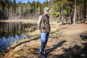 Benny Gäfvert är verksamhetsansvarig på Rovdjurscentret och har tagit initiativ till restaureringsprojektet.
