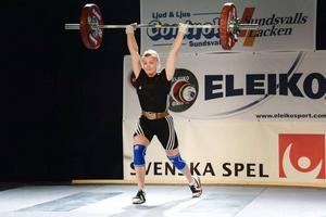 Under SM-veckan hamnade Lita Söderqvist på en åttonde plats av totalt 19 tävlande.