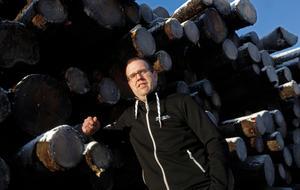 Andre Själander, ägare av TSG Transport.