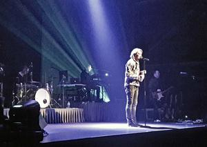 Tommy Nilsson uppträdde på Magasinet i Falun på lördagen.