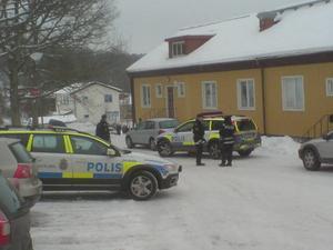 Det var här på internatet vid Ljungkiles Folkhögskola som polisen sköt eleven.