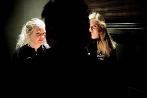 Emelie Larsson och Mona Brorsson är två delar av världscuplaget.