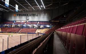 Ett välfyllt Tegera Arena krävs under årets säsong för att det ekonomiskt tyngda fastighetsbolaget ska kunna förbättra sin ekonomi. Foto: Stina Rapp/arkiv/DT